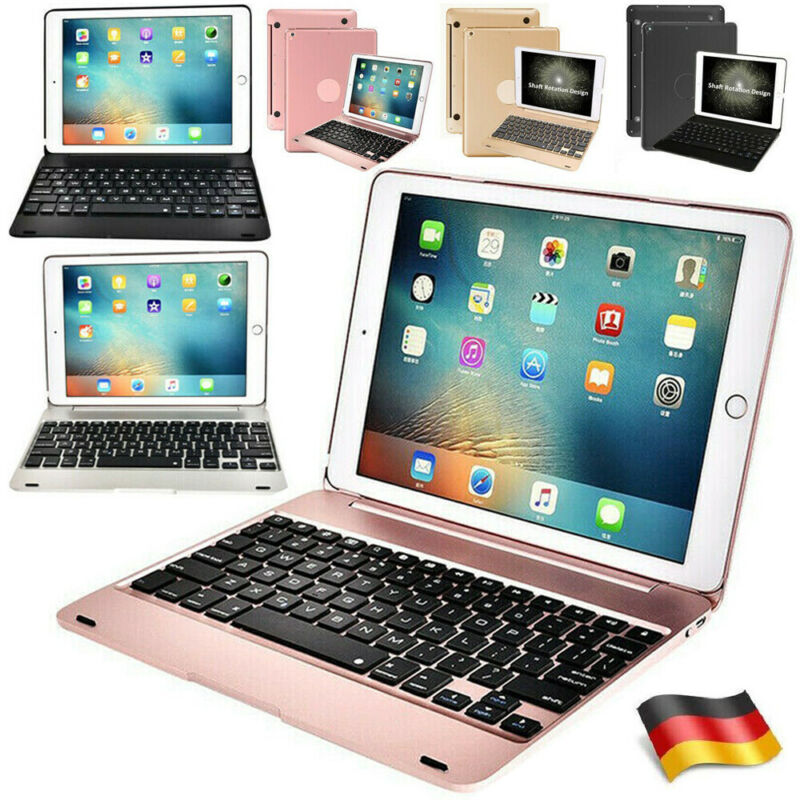 """Wireless Bluetooth Keyboard Case Shell Cover For iPad Air 1/2 9.7"""" 2018 6th Gen"""