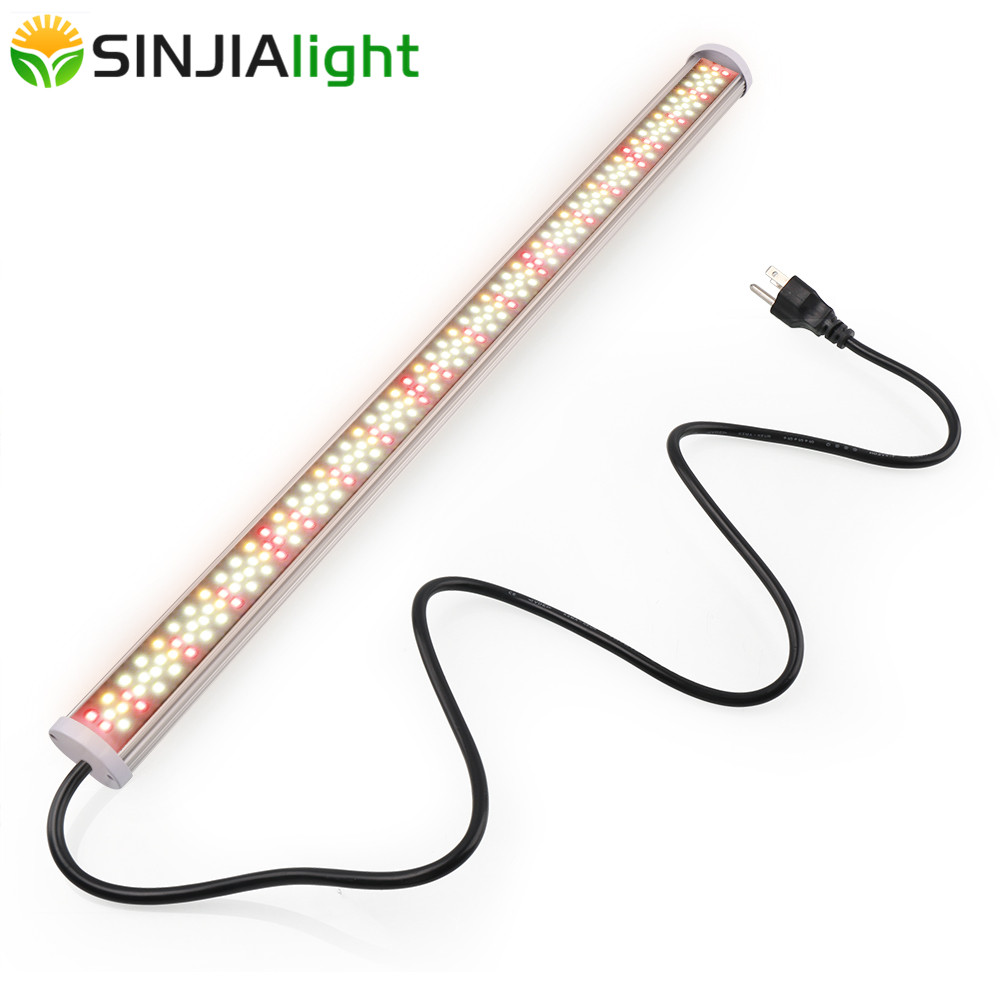 2019 New LED Grow Light Bar Tube Fitolamp 220LEDs Full Spectrum Hydroponic Plant Growing Lamp for cultivo indoor vegs grow tent