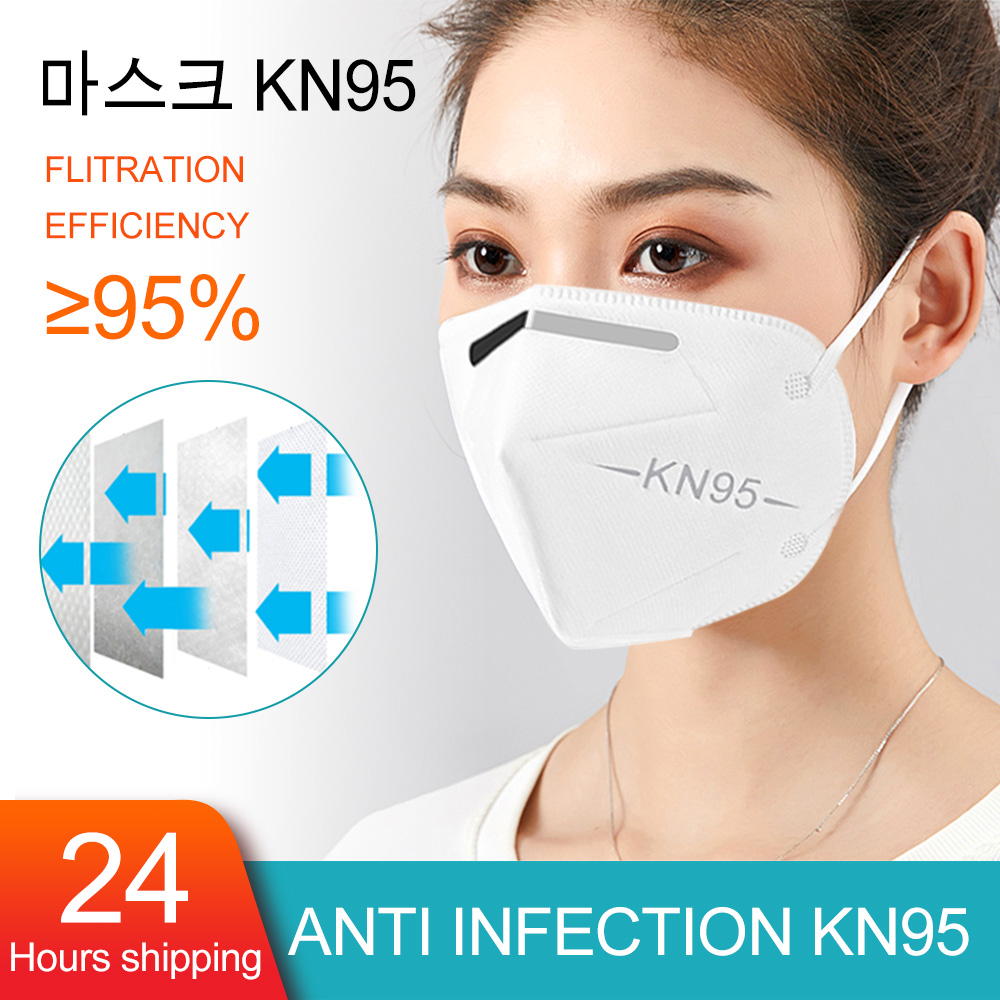 10/20/50/pcs N95 Mask CE Antivirus Flu Anti Infection KN95 Masks Particulate Respirator PM2.5 Same Protective As KF94 FFP3 Masks