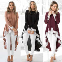 Woman Muslim Abaya Cardigan Islamic Lace Up Irregular Robes Middle East Arabic Turkish Kaftan Ramadan Elegant Evening Dress