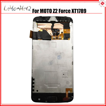 """5.5"""" new LCD For Motorola MOTO Z2 Force XT1789 Display Touch screen Digitizer Assembly Replacement Z2 Force LCD"""