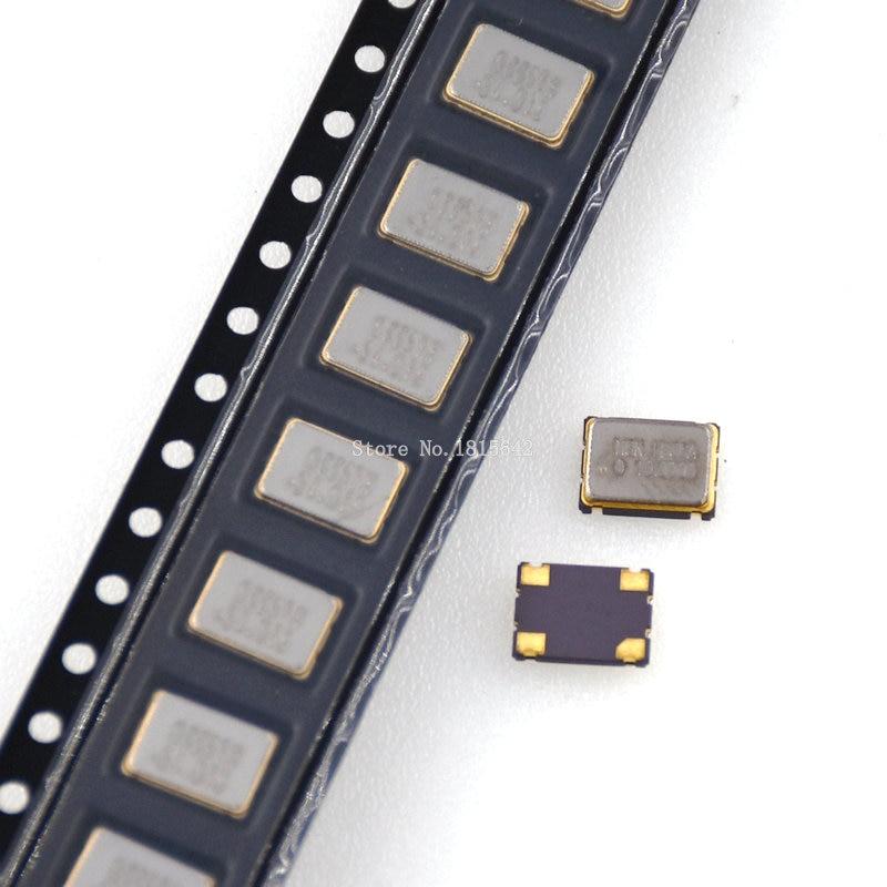 5 шт. 5*7 мм 7050 4-контактный SMD генератор 100 МГц 100 м 100,000 МГц активный Кристальный генератор