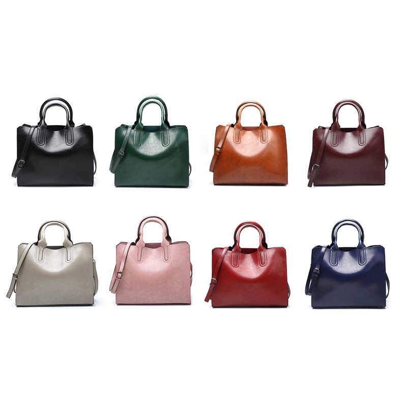 Luksusowa torebka kobiet 2019 torby projektant lato dużego ciężaru na ramię sac duże bolsa feminina vintage messenger sprzęgła brązowy skórzana torba