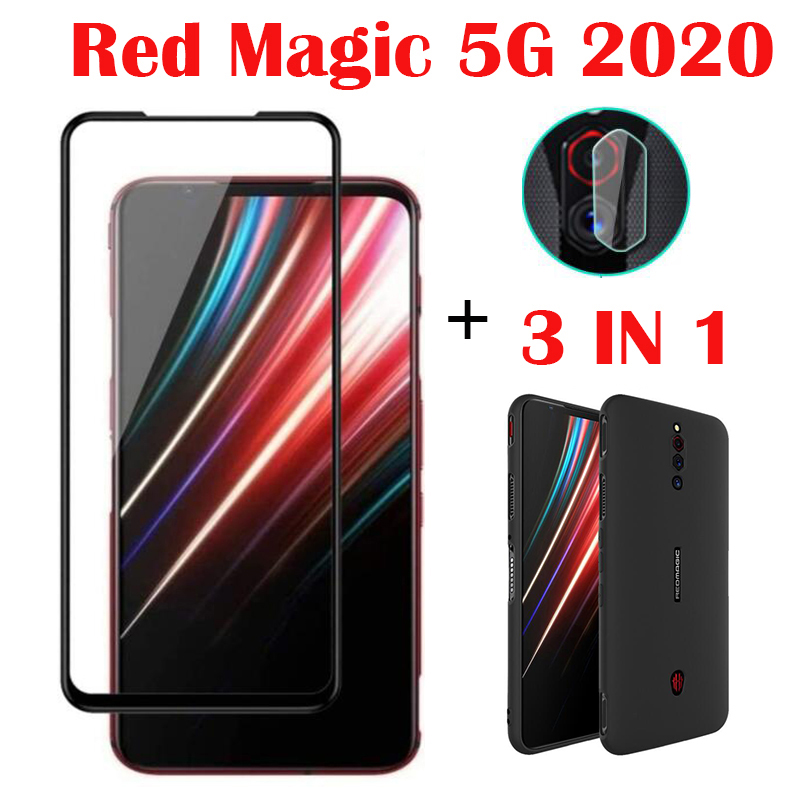 Защитное стекло 3 в 1 для ZTE Nubia Red Magic 5G