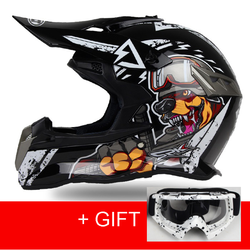 New Design Motorcycles Protective Gears Dirt Bike Racing Motocross Helmets Cross Country Motorcycle Helmet