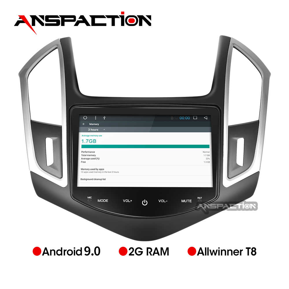 "8 ""IPS Android 9.0 Auto DVD Voor Cruze 2013 2014 2015 Auto Radio FM PC Stereo GPS Navigatie Audio video Systeem Gratis Backup Camera"