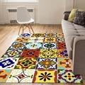 Красочные геометрические Tapete богемные коврики для гостиной ковер журнальный столик диван прикроватная тумбочка для спальни одеяло Нескол...