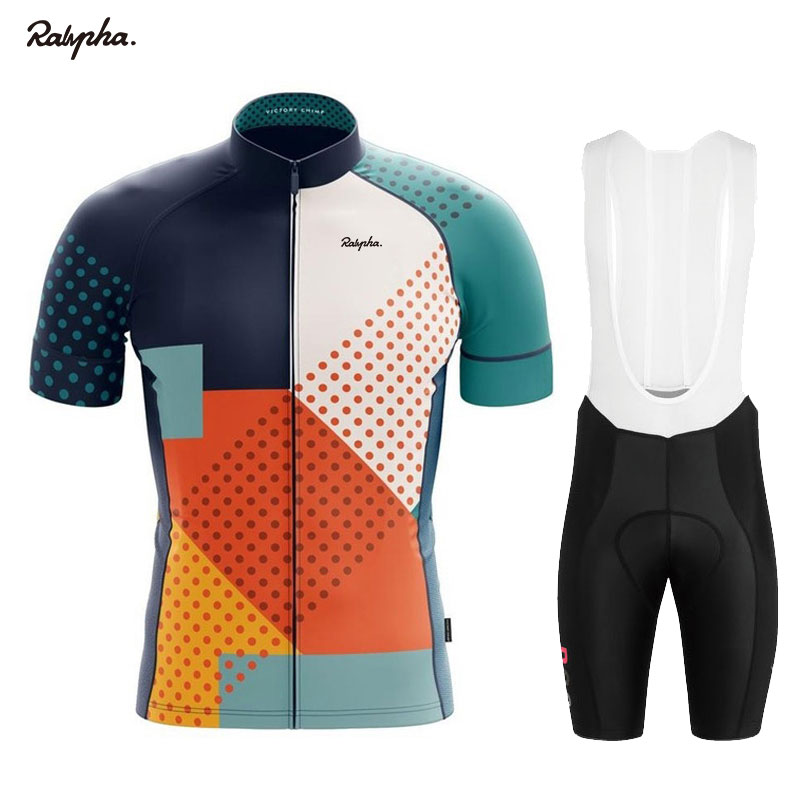Ralvpha 2020 Men's Cycling Wear Bicycle Roupas Ropa Ciclismo Hombre Sets MTB Maillot Bicycle Summer Road Bike Triathlon Suits