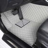 Tapis de sol de voiture personnalisé kokolololee pour SsangYong Korando Actyon Rexton président Kyron tapis anti-usure tapis de voiture