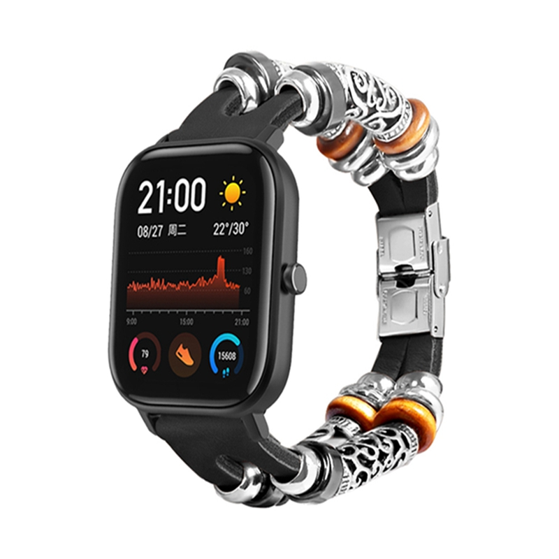 Bakeey Retro Style Watch Band Replacement Watch Strap for Amazfit GTS Smart Watch Fashion Smart Accessories Wearable Devices