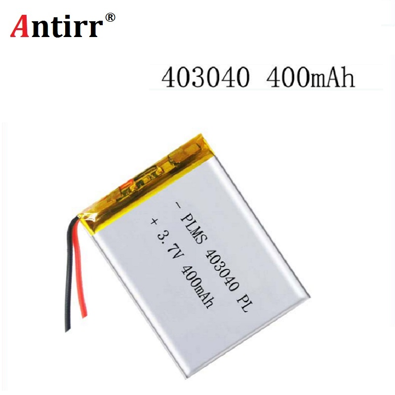 3.7V 450mAh 403040 Lithium Polymer Li-Po li ion Rechargeable <font><b>Battery</b></font> For MP3 MP4 GPS Bluetooth Tachograph <font><b>Car</b></font> DVR speaker image