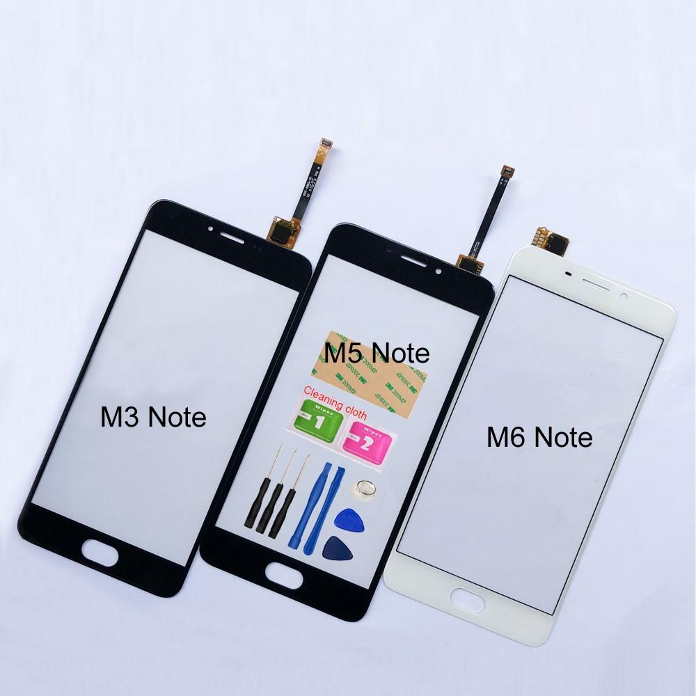 Сенсорный экран 5,5 дюйма для Meizu M5 Note M3 Note M6 Note, сенсорный экран с дигитайзером, сенсор, сменная стеклянная панель