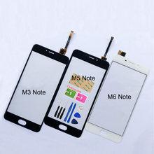 5.5 screen screen tela de toque para meizu m5 nota m3 nota m681h m6 nota digitador da tela toque sensor substituição do painel vidro
