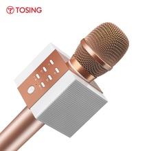 Professionale Bluetooth Microfono Senza Fili di Karaoke Microfono Altoparlante Portatile del Giocatore di Musica MIC Canto Registratore KTV Microfono