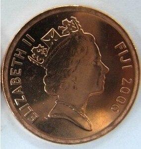 Фиджийская монета размером 17 мм, 100% Подлинная монета, оригинальная коллекция