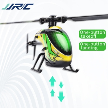 JJRC M05 RC Helicopter 2.4GHz 4 Channel 6-Axis Gyro Stabilizer Altitude Hold Helicopter for Indoor to Fly for Kids and Beginners 4