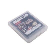 Картридж для игровой консоли Nintendo DS 2DS 3DS, карта Castlevania с портретом разрушенного английского языка, американская версия