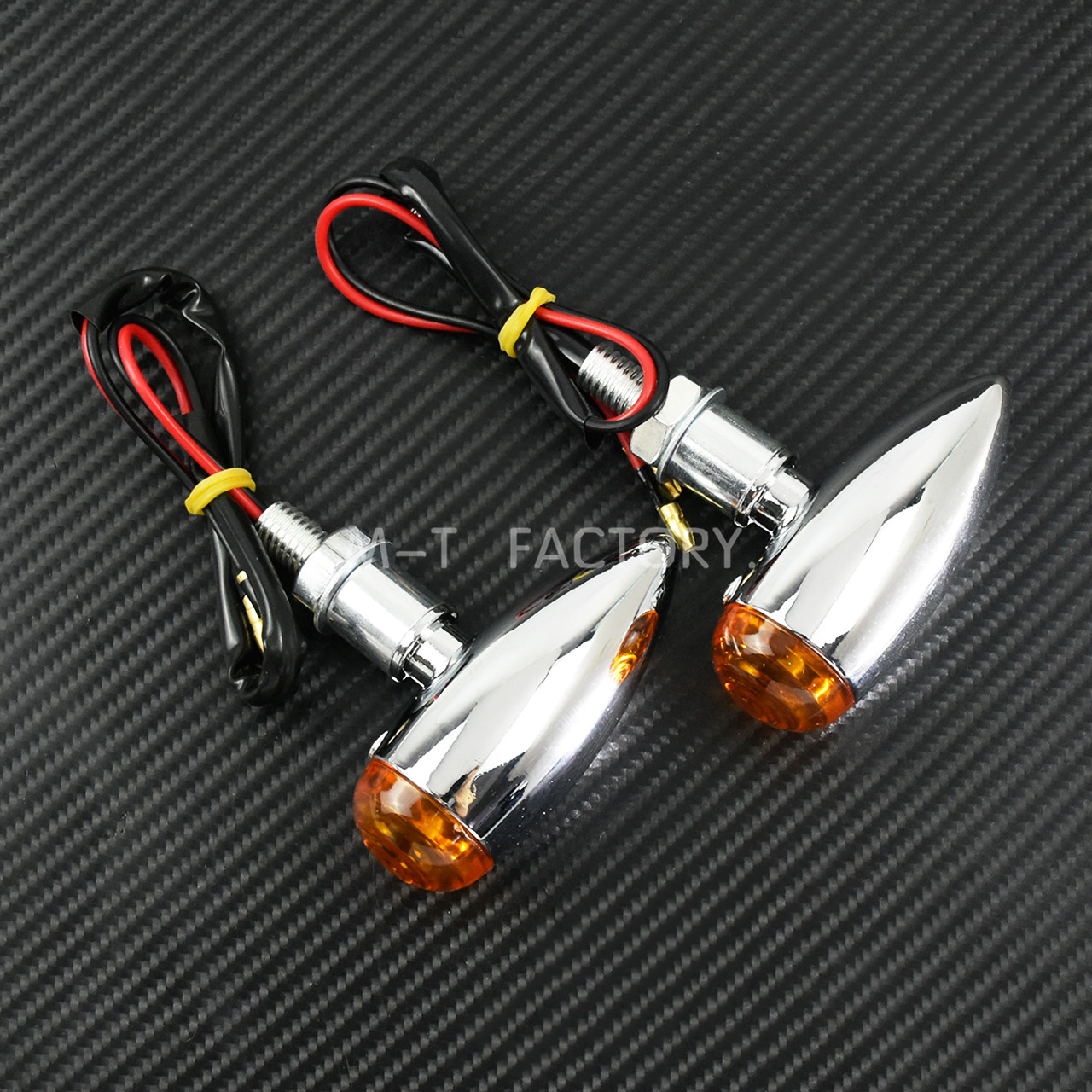 sinal de seta para motocicleta lampada cromada 01