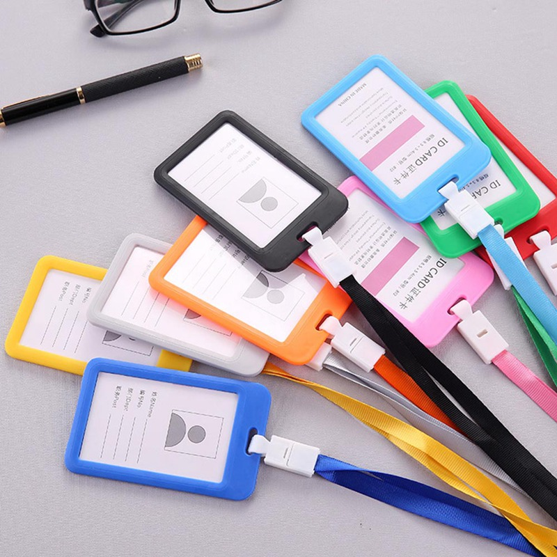 Creative Documents Sets Staff Badge Access Control Card Lanyard Work Badge Card Office Supplies Hot Sale