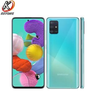 "Brand New Samsung Galaxy A51 A515F-DSN Mobile Phone 6.5"" 6GB/8GB RAM 128GB Four Rear Camera Android 4000mAh Dual SIM Smart Phone(China)"