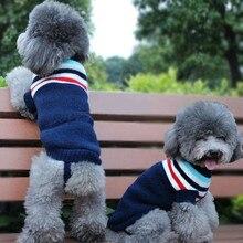 Вязаный свитер для домашних животных с рисунком клубники и лося, кошки, собаки, осень и зима, вязаное крючком, тканевое пальто, куртка, одежда, товары для домашних животных