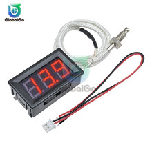 XH-B310 Digital Tube LED Display Thermometer 12V Temperature Meter K-type M6 Thermocouple Tester -30~800 Degree Thermograph Home xh b310 mini high temperature thermometer k type thermocouple digital industrial thermometer 30 800 degree