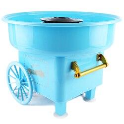 Słodka elektryczna maszyna do waty cukrowej Mini przenośna DIY słodka Marshmallow prezenty dla dzieci w Maszyny do lodów od AGD na