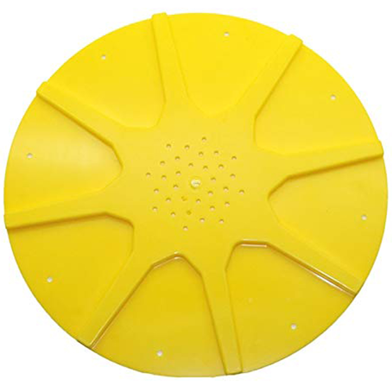 Hive Bottom Yellow Anti-Escape Disc Plastic Beekeeping Equipment Beekeeping Flight Control Beehive Bee Tools 10 Pcs-ABUX