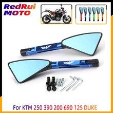 Universal Motorcycle mirror CNC side Rearview For KTM 250 390 200 690 125 DUKE 990 SUPER DUKE R 790 1290 DUKE