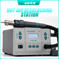 Original 1000W220/110V QUICK 861DW heat gun lead free hot air soldering station microcomputer temperature Rework Station