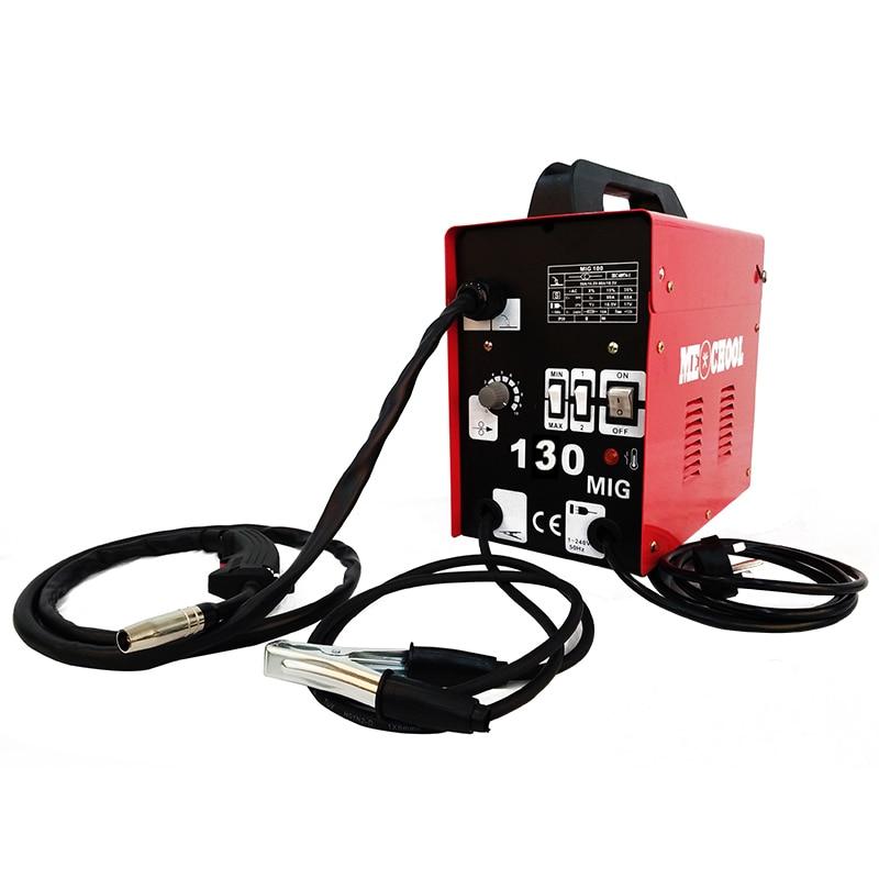 Portable Handheld Mini Electric Welder MIG130 Welding Machine for DIY Welding Working and Electric Working|MIG Welders| |  -