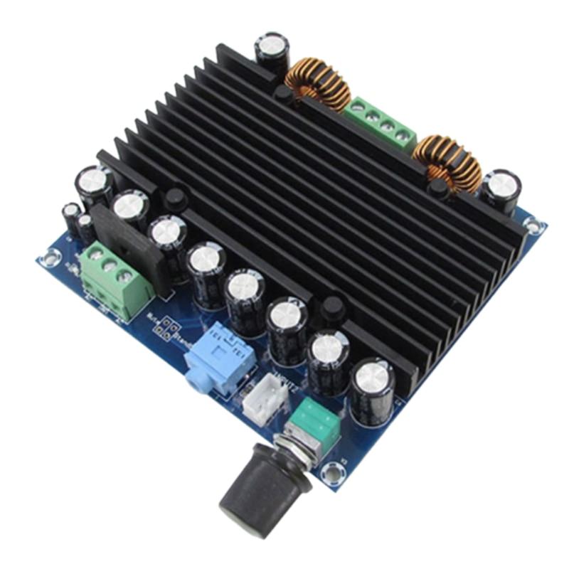 XH-M251 Ultra-alta potencia Digital placa amplificadora de potencia TDA8954 Core Dual 12-28V fuente de alimentación 210W + 210W