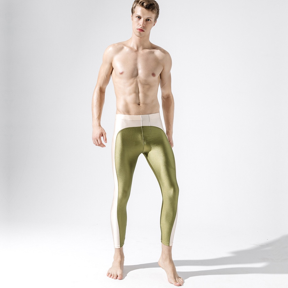 New Men's Fashion Leggings,Men's Tights Sexy Pants,Men's Slim Stretch Leggings 15