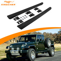 Car Accessories Running Board Nerf Bar FIT For Jeep Wrangler JL 4 Door 2018 2020 Side Step