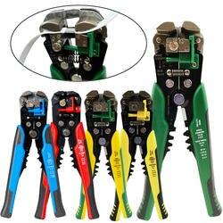 HS-D1 обжимной инструмент для кабелей автоматический резак для зачистки проводов многофункциональный инструмент для зачистки кабеля