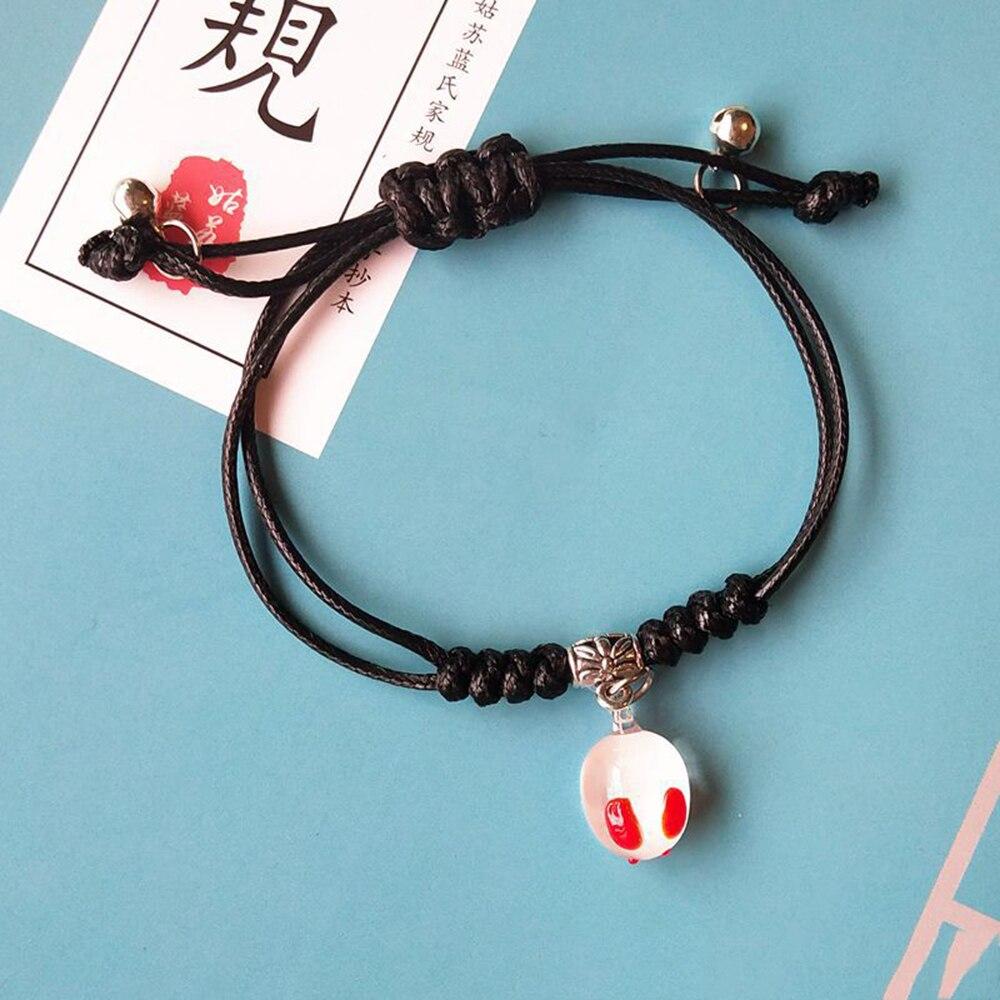 Handmade DIY Bracelet Toys Anime Mo Dao Zu Shi Beads Bracelet Jewelry Accessories Chen Qing Ling Bracelet Gold Beads Bracelets