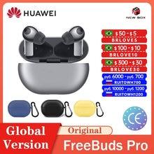 Huawei FreeBuds Pro Kopfhörer Drahtlose Bluetooth 5,2 Aktive Lärm Stornierung Kopfhörer TWS In-ohr سماعة гарнитура Auriculares