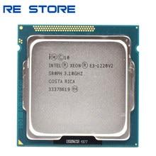 Se Intel Xeon E3 1220 V2 procesador 3,1 GHz 8MB 4 Core 1333MHz SR0PH LGA 1155 CPU