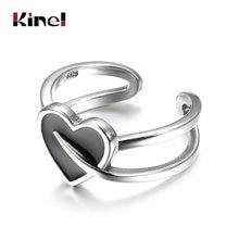 Женское кольцо из серебра 925 пробы регулируемого размера