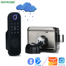 Raykube дверной замок с отпечатком пальца электронный Умный