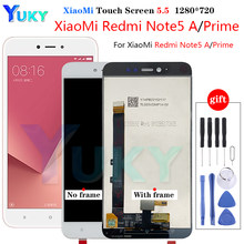 For Xiaomi Redmi Note 5A MDG6 / Redmi Note 5A Prime MDG6S LCD Display + Touch Screen Digitizer Assembly Redmi Y1 / Y1 Lite