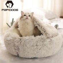 Cushion House Sofa Dogs-Basket Velvet Plush Mats Washable Round Soft Small Warm Large