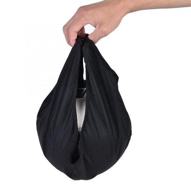 Short Plush Cloth Durable Bowling Ball Bag Cleaner Ball Polisher and Carrier for Gym Equipment 1
