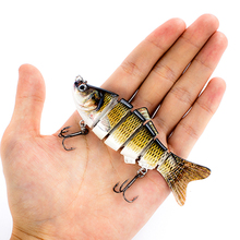 LUREASY artificial hard fishing lure 10cm20g multi-section crank bait deep sea sinking carp accessories