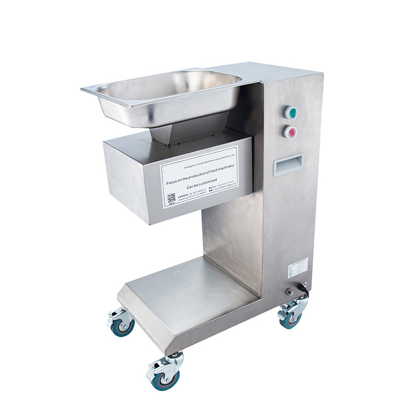 XJT-EA Meat Slicer 220/110V Cut Pork Meat Sliced Diced Meat Machine Multi-function Meat Slicer 500kg/h