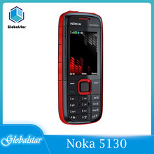Nokia 5130 reconditionné Original, téléphone portable, clavier russe XpressMusic 5130, livraison gratuite