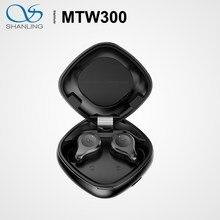 Shanling – écouteurs sans fil Bluetooth 5.2, MTW300 TWS, oreillettes de sport, commandes de volume, aptX / AAC / SBC IPX7, 35 heures