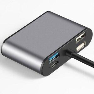 Image 2 - Aireach usb hdmi type c hdmi mac 3.1 변환기 어댑터 typec to hdmi hdmi/usb 3.0 2.0/vga 오디오 tf for apple macbook adapter