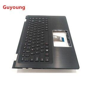 Us portátil teclado palmrest para lenovo yoga 500-14ibd 3-1470 3-1435 flex caso superior flex 3-1470 com capa de teclado retroiluminado