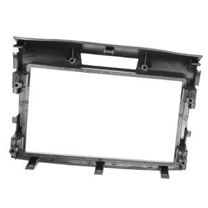 Image 5 - 2 din rádio do carro dvd fascia para honda crv CR V 2012 estéreo de áudio quadro painel placa montagem traço instalação bezel guarnição kit